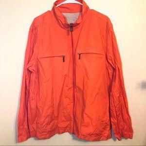 Michael Kors Zip Jacket Orange XL